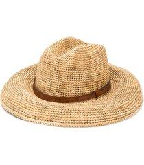ibeliv lubeman woven hat - neutrals