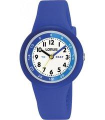 reloj análogo azul lorus by seiko