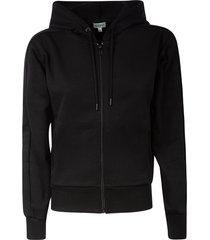 kenzo zipped classic hoodie