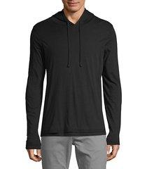 long-sleeve cotton hoodie