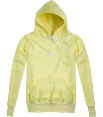 bluza hoodie classic lemon