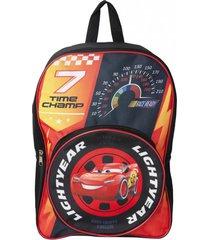 mochila escolar bolsillo redondo 16 multicolor cars