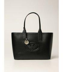 emporio armani tote bags emporio armani bag in synthetic leather
