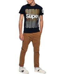 superdry men's echo logo t-shirt