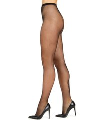 inc women's lace backseam tights, created for macy's