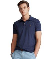 polo ralph lauren men's custom slim fit cotton polo