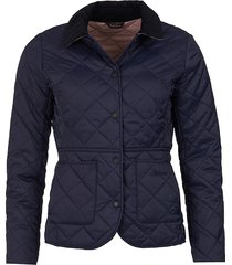 barbour deveron quilted jacket / barbour deveron quilted jacket, navy/pale pink, 8