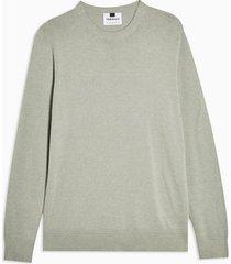 mens green mint twist essential sweater