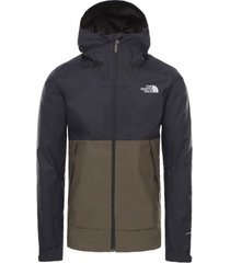 the north face jas men millerton jacket new taupe green/tnf black-xl