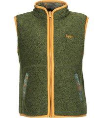 chaqueta sherwood shaggy vest verde militar  lippi
