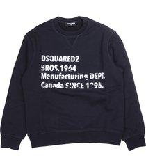 dsquared2 dsquared logo sweatshirt