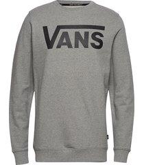 top mens alpha sweat-shirt trui grijs vans