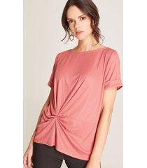 camiseta dapeado rosado 4