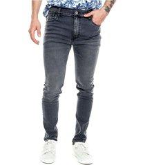 black denim skinny jeans vintage appearance color blue