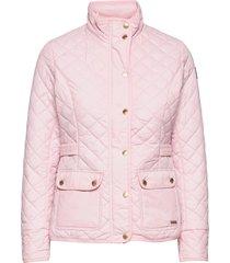 cathrine quilted jacket kviltad jacka rosa sebago