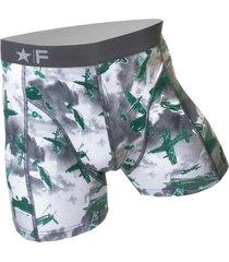 funderwear heren boxer 76005 planes groen-xxl