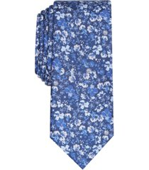bar iii men's alpine skinny floral tie, created for macy's