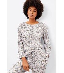 loft petite pajama top