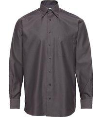 classic fit business casual signature twill shirt overhemd business grijs eton