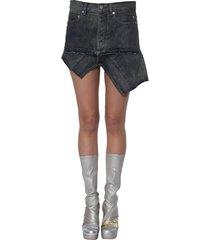 rick owens asymmetric skirt