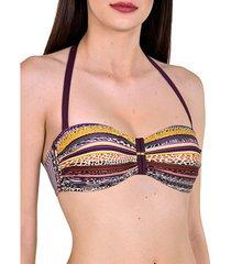 bikini lisca freetown underwire bandeau zwempak top