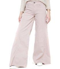 jeans palazzo palo rosa five