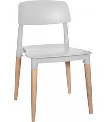 krzesło dla dzieci dziecięce snow szare