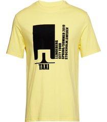 dale distinct cotton t-shirts short-sleeved gul j. lindeberg