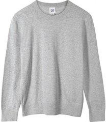 chaleco algodón gris gap