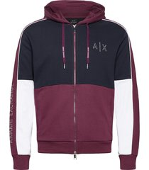 armani exchange sweatshirt hoodie röd armani exchange