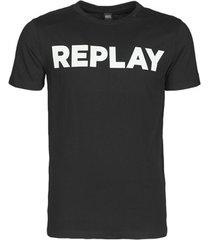t-shirt korte mouw replay m3594