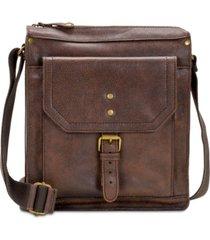 patricia nash men's leather crossbody bag