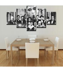 gangsters scarface canvas print  5 piece canvas art wall art picture home decor