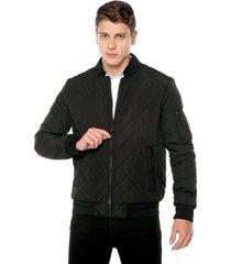 chaqueta negra calvin klein