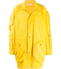 walter van beirendonck pre-owned 2010/11's take a w-ride cargo coat -