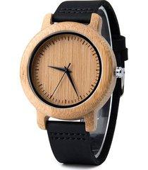 reloj hombre madera bobo bird 702 - negro