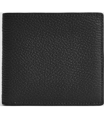 reiss bishop - leather wallet in black, mens