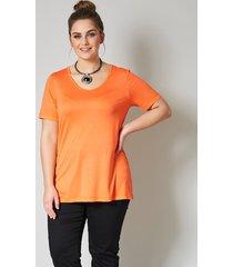 shirt janet & joyce oranje