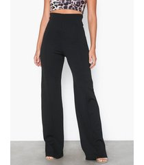 nly one shape high wide pant byxor