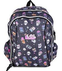 mochila escolar infantil luxcel lol susprise