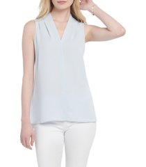 women's nic+zoe day to night top, size x-small - blue