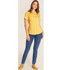 blusa amarilla amarillo l