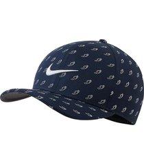 gorra de golf nike aerobill classic99-azul-azul