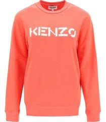 kenzo sweatshirt with logo print