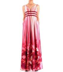 fabiana ferri 30195 dress women bordeaux