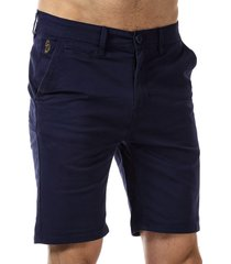 luke 1977 mens corbite chino shorts size 34 inch in blue