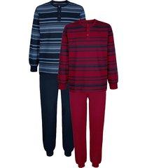 pyjama's babista 1x bordeaux, 1x marine