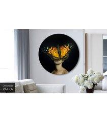 kobieta motyl - obraz lub naklejka