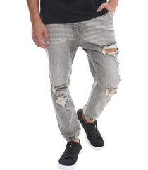 jeans jogger gris corona