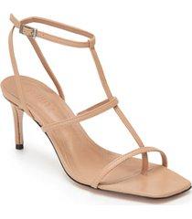 women's schutz ameena t-strap thong sandal, size 9.5 m - beige
